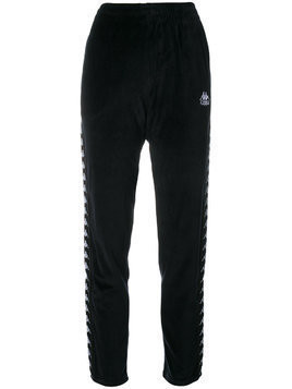 Kappa side panel track pants - Black