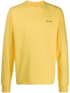 Botter printed logo sweatshirt - Yellow