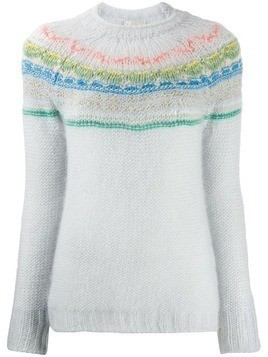 Forte Forte My Knit intarsia sweater - Blue