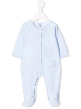 Absorba velour babygrow - Blue
