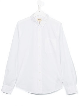 Bellerose Kids classic shirt - White