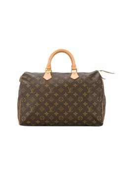 Louis Vuitton Vintage Speedy 35 Tote - Brown