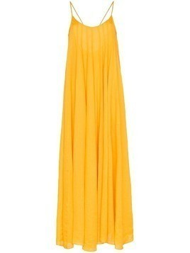 Three Graces Mabelle maxi dress - Yellow