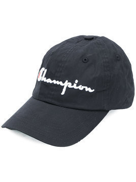 Champion embroidered logo cap - Black