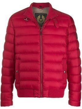 Belstaff buckled neck puffer jacket - Red