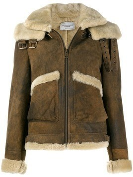 Forte Dei Marmi Couture sheepskin shearling jacket - Brown