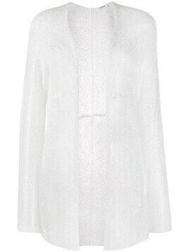 P.A.R.O.S.H. lightweight knit cardigan - White