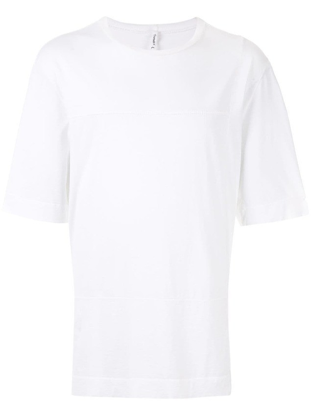 Transit round neck T-shirt - White