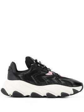 Ash Extreme low-top sneakers - Black