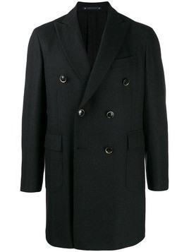 Al Duca D'Aosta 1902 double breasted coat - Grey