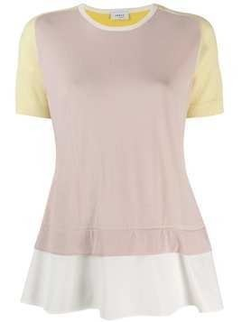 Akris Punto layered T-shirt - PINK