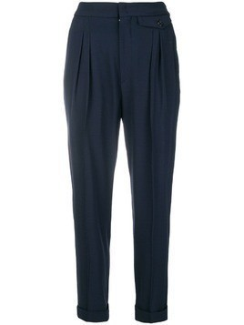 Isabel Marant tailored slim-fit trousers - Blue