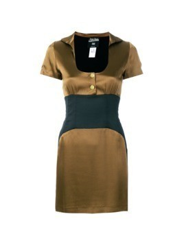 Jean Paul Gaultier Vintage empire line short dress - Brown