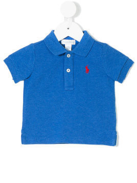 Ralph Lauren Kids classic logo polo shirt - Blue