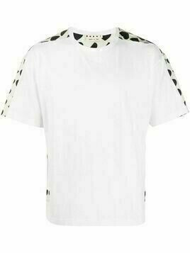 Marni heart-print cotton T-shirt - White