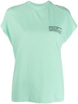 Essentiel Antwerp Neon Moon T-shirt - Green