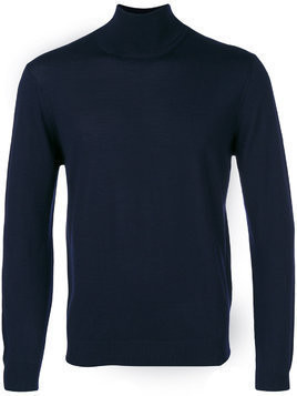 Fashion Clinic Timeless roll-neck jumper - Blue