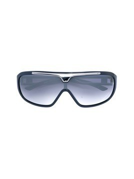 Jean Paul Gaultier Vintage oversized sunglasses - Blue