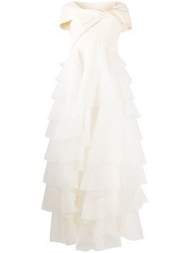 Giambattista Valli tiered bridal gown - Neutrals