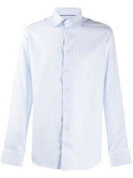 Eton slim striped shirt - Blue