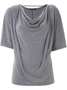 Alcaçuz Logatimo draped top - Grey