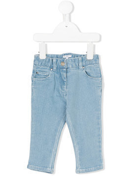 Givenchy Kids star print jeans - Blue