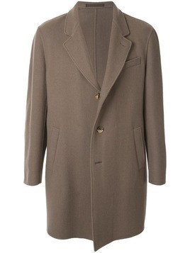 Caruso button-up coat - Multi