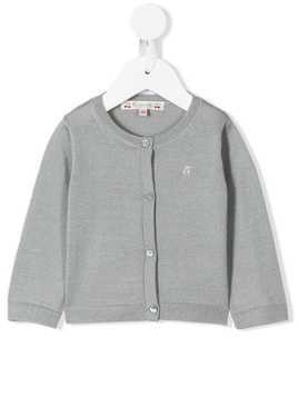 Bonpoint round neck cardigan - Blue