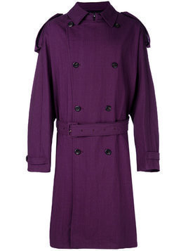 Raf Simons oversized trench coat - Pink & Purple