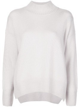 Allude cashmere relaxed-fit jumper - Grey