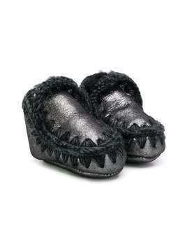 Mou Kids Eskimo booties - Black