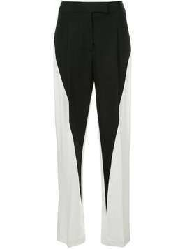 Haider Ackermann high rise straight leg trousers - Black