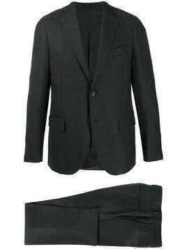 Dell'oglio single-breasted suit - Blue