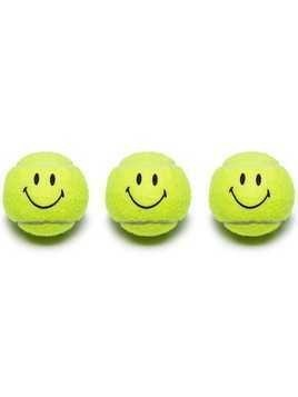 Chinatown Market Smiley Face tennis ball multipack - Multicoloured