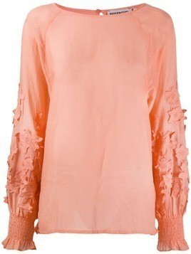 Essentiel Antwerp lightweight floral blouse - Orange
