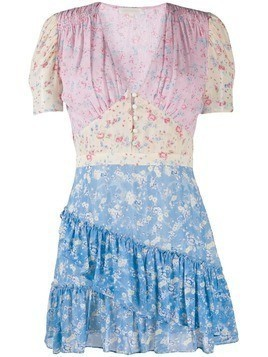 Love Shack Fancy Bea mini dress - PINK