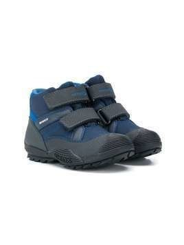 Geox Kids touch-strap snow boots - Blue