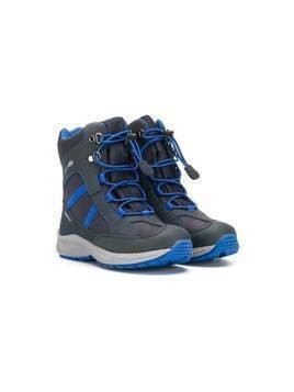Geox Kids lace-up ankle boots - Blue