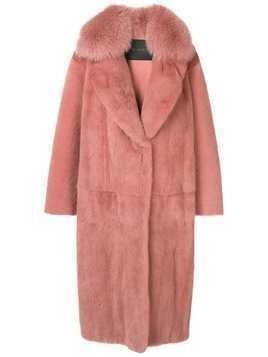 Blancha oversized coat - Pink