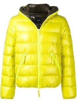 Duvetica hooded down jacket - Yellow