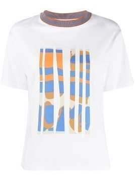 Tela printed T-shirt - White