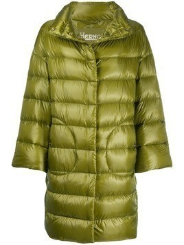 Herno high neck padded coat - Green