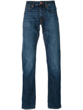 Incotex - straight leg jeans - Herren - Cotton - 33 - Blue