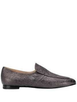 Fabiana Filippi classic slip-on loafers - SILVER