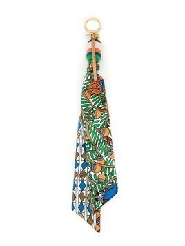 Tory Burch SCARF KEY FOB - Multicolour
