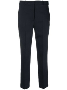 Jil Sander Navy cropped tailored trousers - Blue