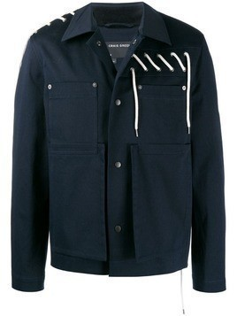Craig Green Laced Bonded Worker Jacket - Blue