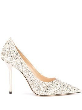 Jimmy Choo Love 100 pumps - Gold