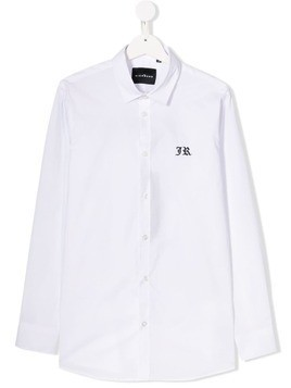 John Richmond Junior script logo shirt - White