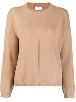 Allude cashmere blend sweater - Brown